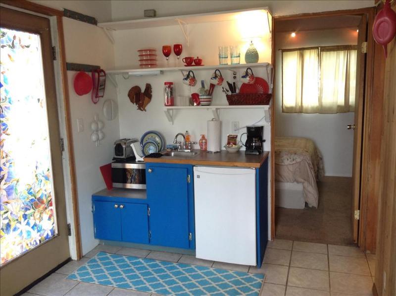 Kitchenette has microwave, coffee pot, toaster - Rockfish Cottage - Sitka - rentals