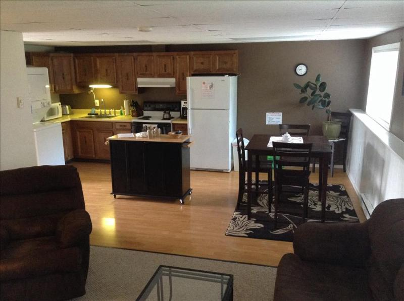 Open, Living, Dining Area - Swan Lake View Apt - Sitka - rentals