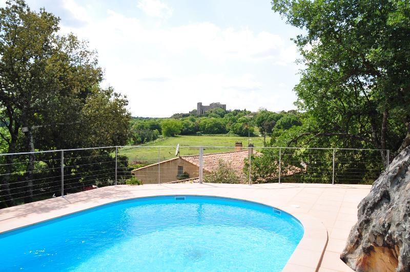 Villa near Nimes with Castle Views - Villa la Capelle - Image 1 - Pouzilhac - rentals