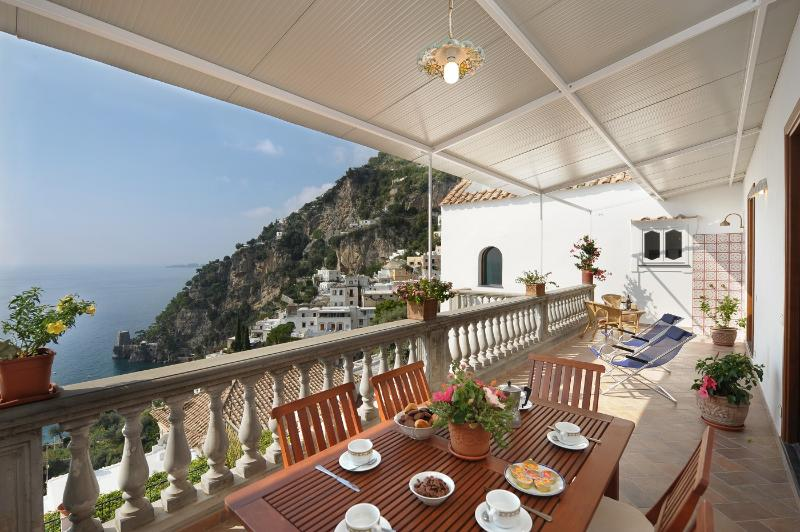 Beautiful Villa with Panoramic Views in Positano - Villa Perla - Image 1 - Positano - rentals