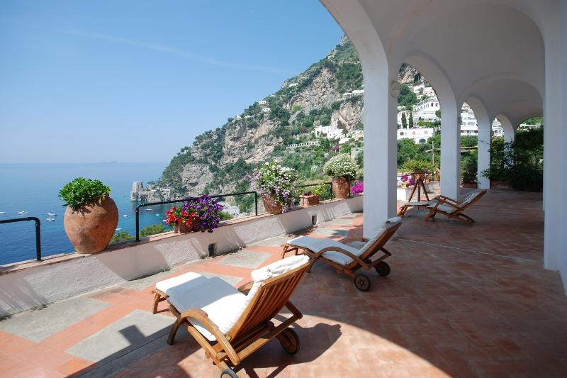 Beautiful Villa in Positano with Sea Views - Villa Rina - Image 1 - Positano - rentals