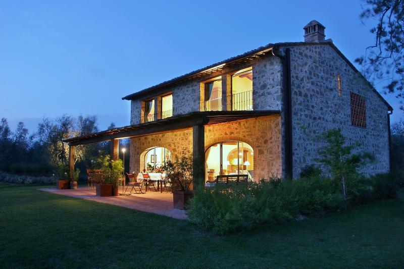 Tuscan Farmhouse Rental on Large Estate - Casa Gilda - Image 1 - Lucardo - rentals