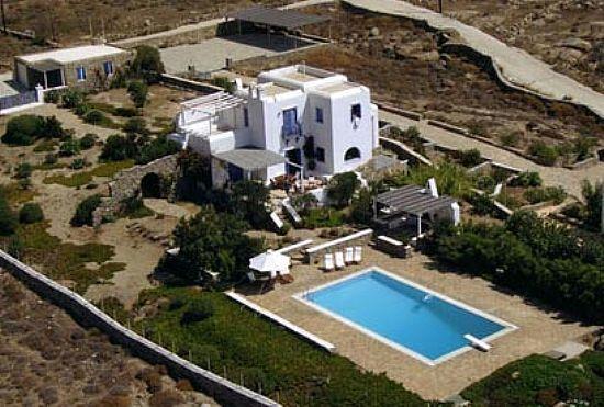 Villa Rental on Mykonos with Stunning Views - Villa Semeron - Image 1 - Ftelia - rentals