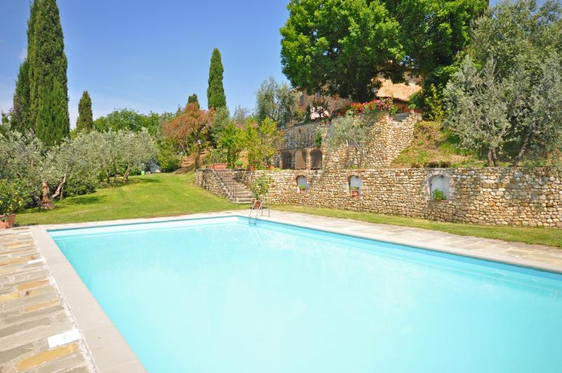 Tuscan Country Villa for Rent Near Florence - Villa Irina - Image 1 - San Casciano - rentals