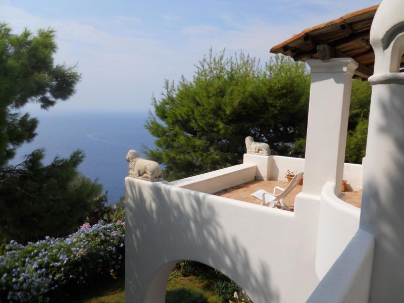 Villa with Panoramic Views and Pool on Capri  - Villa Astra - Image 1 - Anacapri - rentals