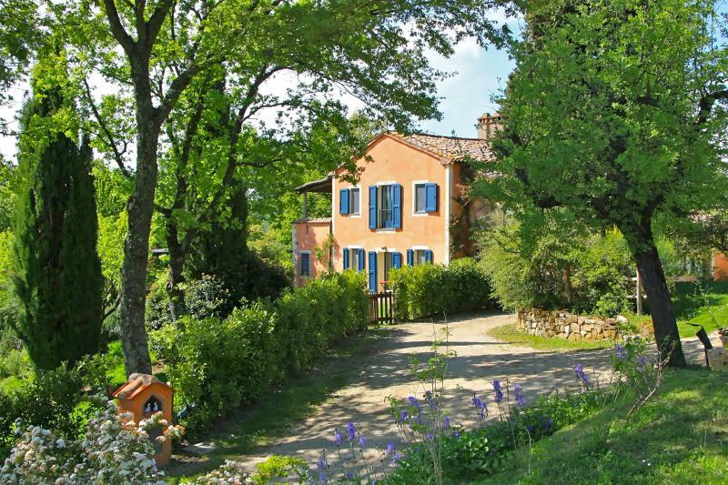 Lovely Tuscan Villa with Pool Near Fonteverde Spa - Villa Fonteverde - Image 1 - San Casciano dei Bagni - rentals