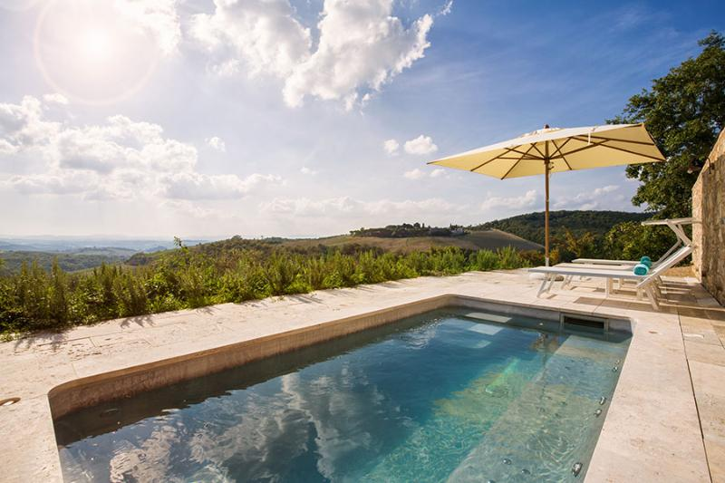 Luxury Chianti Villa with Private Pool and Views  - Villa Cleo - Image 1 - Castellina In Chianti - rentals