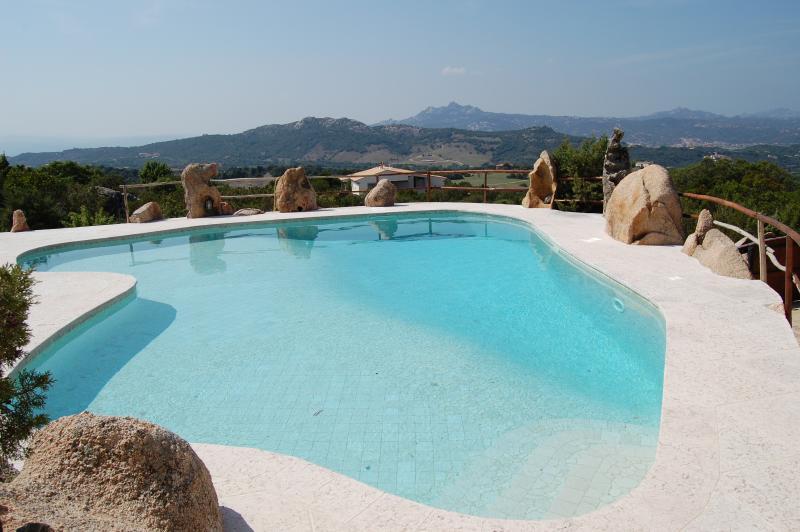 Family-friendly Sardinia Villa with Private Pool and Annex - Villa Mirto - Image 1 - Baia Sardinia - rentals