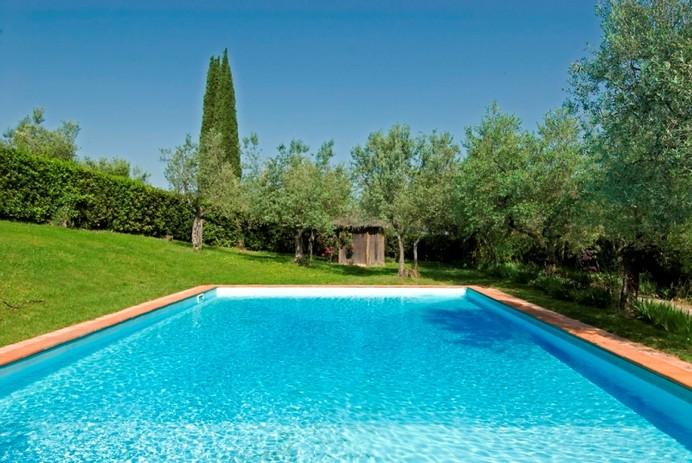 Beautiful Tuscan Villa with Tower and Private Swimming Pool near Florence - Image 1 - Grassina Ponte a Ema - rentals