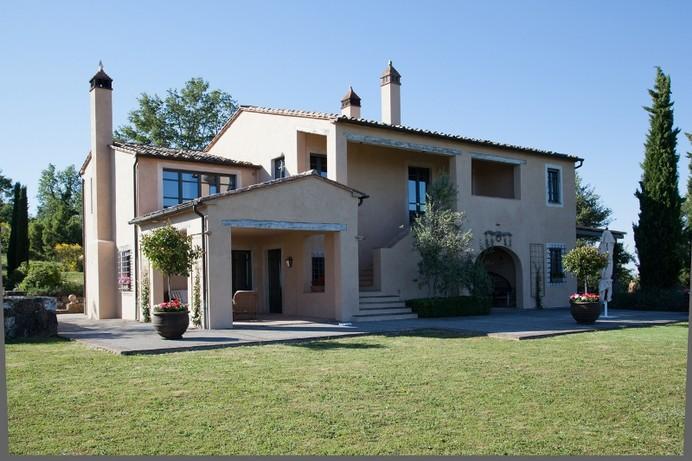 Renovated Farmhouse Villa in Southern Tuscany for Families - Villa Corso - Image 1 - Palazzone - rentals