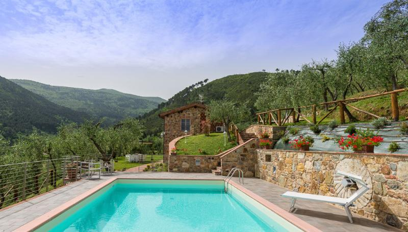 Tuscany Farmhouse with Pool and Jacuzzi Near Lucca - Villa Poesia - Image 1 - Vorno - rentals