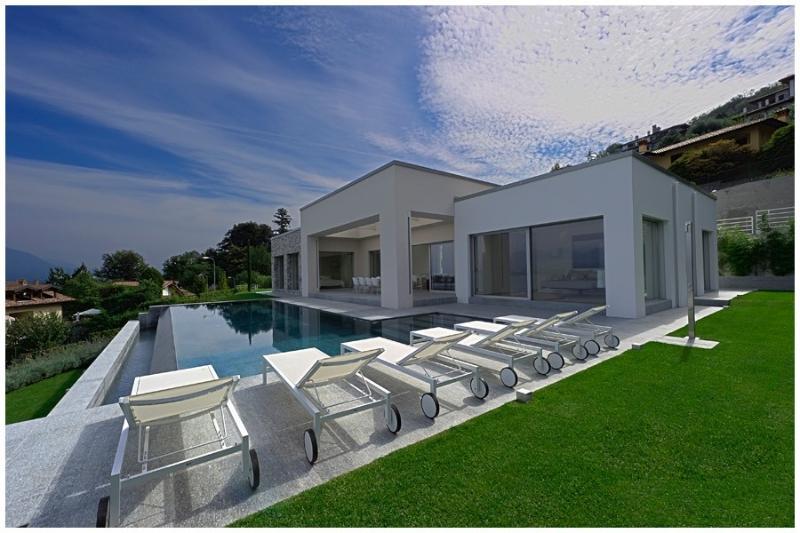 Modern Luxury Villa Overlooking Lake Maggiore and the Borromeo Islands  - Villa Esme - Image 1 - Stresa - rentals