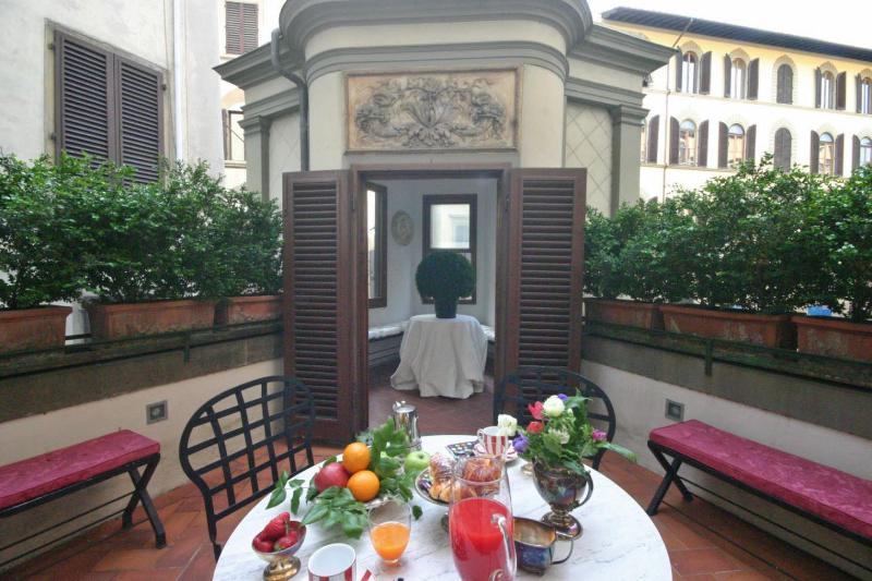 Florence Apartment with Private Terrace for a Couple - Assunta - Image 1 - Florence - rentals