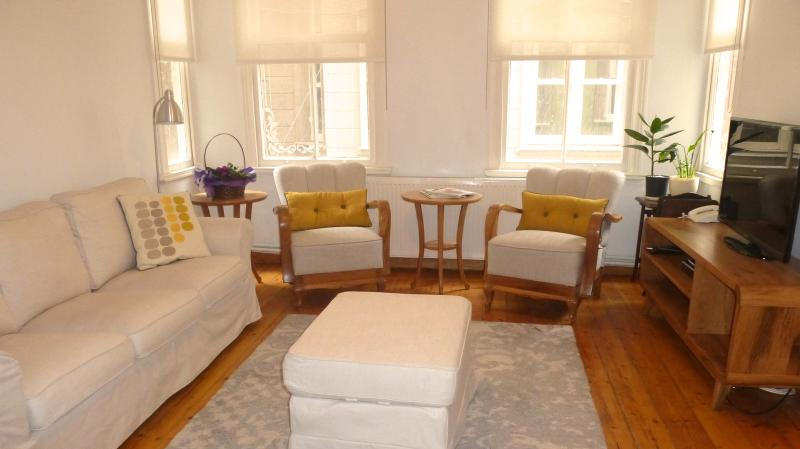 Lovely Apartment with Three Bedrooms Near Galata Tower  - Kelebek - Image 1 - Istanbul Province - rentals