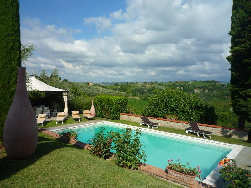 Tuscan Villa with Private Pool on an Olive Oil Estate  - Villa Pia - Image 1 - Montespertoli - rentals