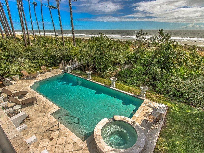 Oceanfront Pool at 10 East Wind - 10 East Wind - Hilton Head - rentals