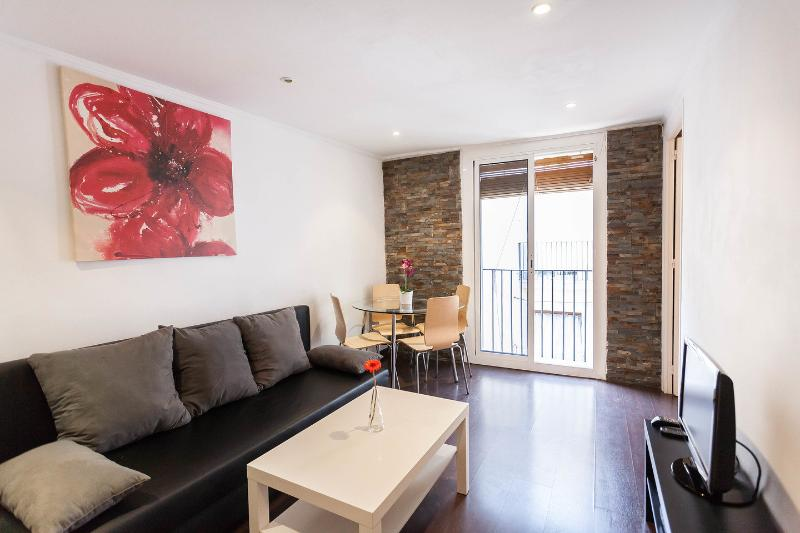 Living Room - Stylish apartment in the heart of Barcelona - Barcelona - rentals