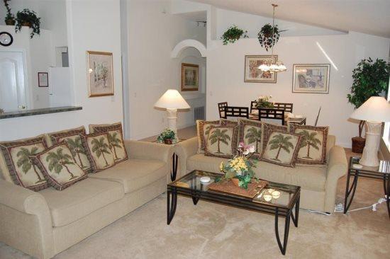 3 Bedroom 3 Bath Villa with South Facing Pool. 101OBC - Image 1 - Orlando - rentals