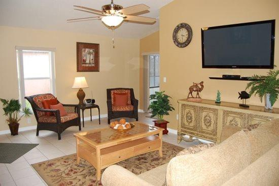 Pet Friendly Sandy Ridge 4 Bedroom 3 Bath Pool Home. 138RC - Image 1 - Orlando - rentals
