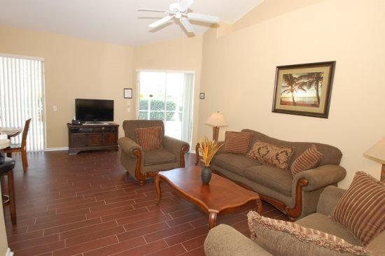 3 Bedroom 2 Bath Tuscan Hills Pool Home with Games Room. 852BD - Image 1 - Orlando - rentals
