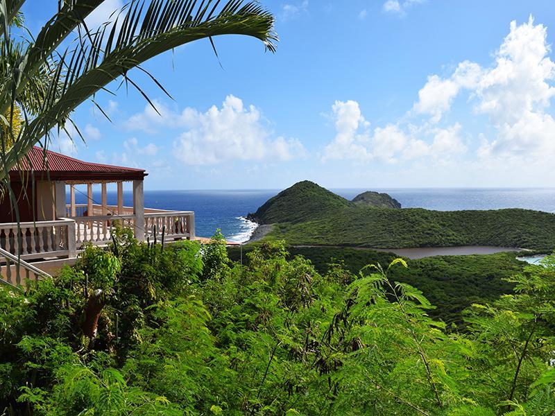 Panoramic South Shore Views of the Caribbean Sea - Salt Pond Vista - Saint John - rentals