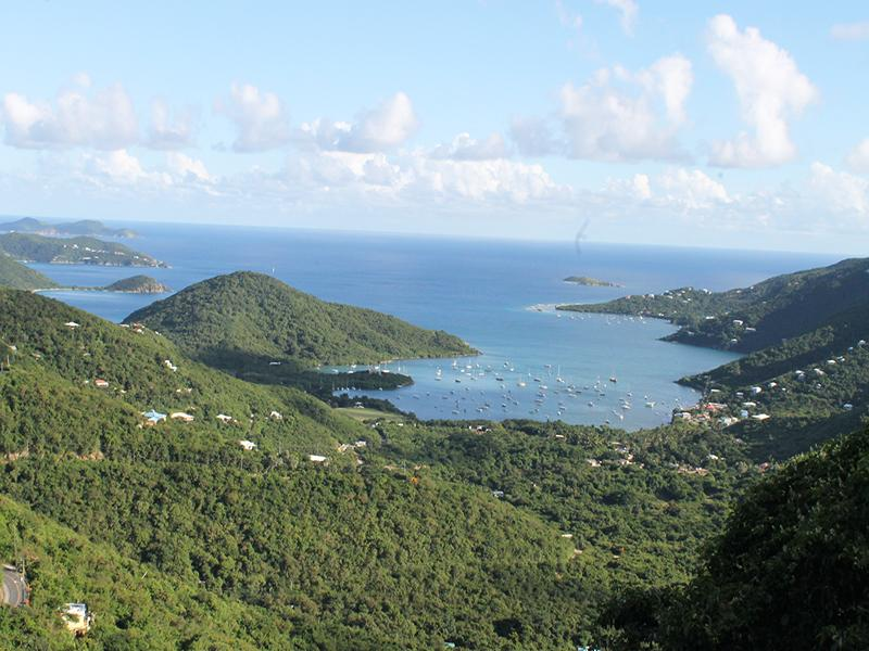 Inspiring Views of Coral Bay and the Caribbean Sea - Satinwood Villa - Coral Bay - rentals