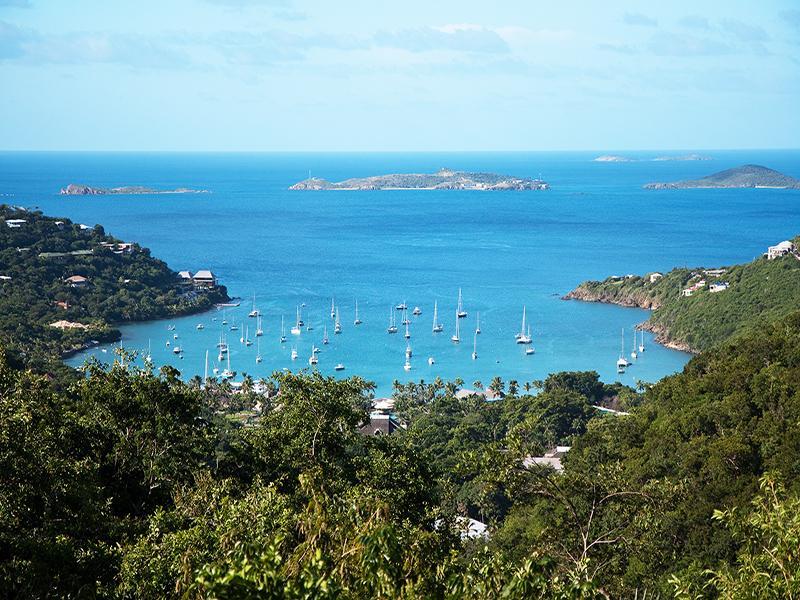 View of Great Cruz Bay from Pool Deck - Sweet Surrender Villa - Cruz Bay - rentals