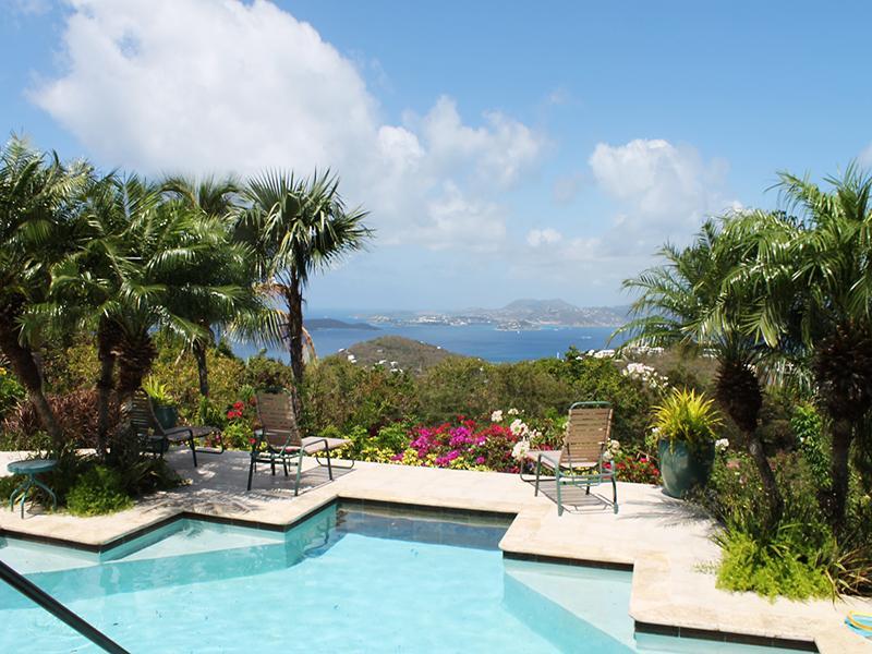 View from Pool Deck - Villa Del Sol - Saint John - rentals