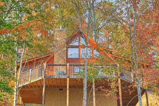 Back of Picture Perfect Hideaway - PICTURE PERFECT HIDEAWAY - Pigeon Forge - rentals