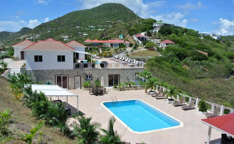 Panorama at Petit Cul De Sac, St Barth - Private Pool, Oceanview - Image 1 - Petit Cul de Sac - rentals