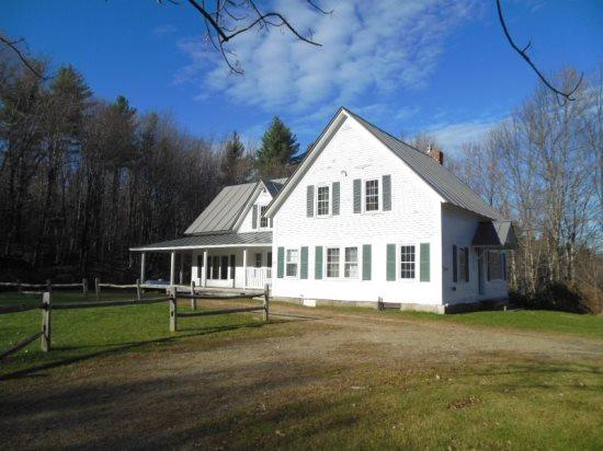 The Whitehouse - Summer exterior - The White House - Seven Bedroom Private Vermont Country Home with Outdoor Hot Tub! - Killington - rentals