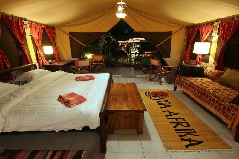 "Simba Suite - ""ANGA AFRIKA"" Luxury Tented Camp Nairobi - Nairobi - rentals"