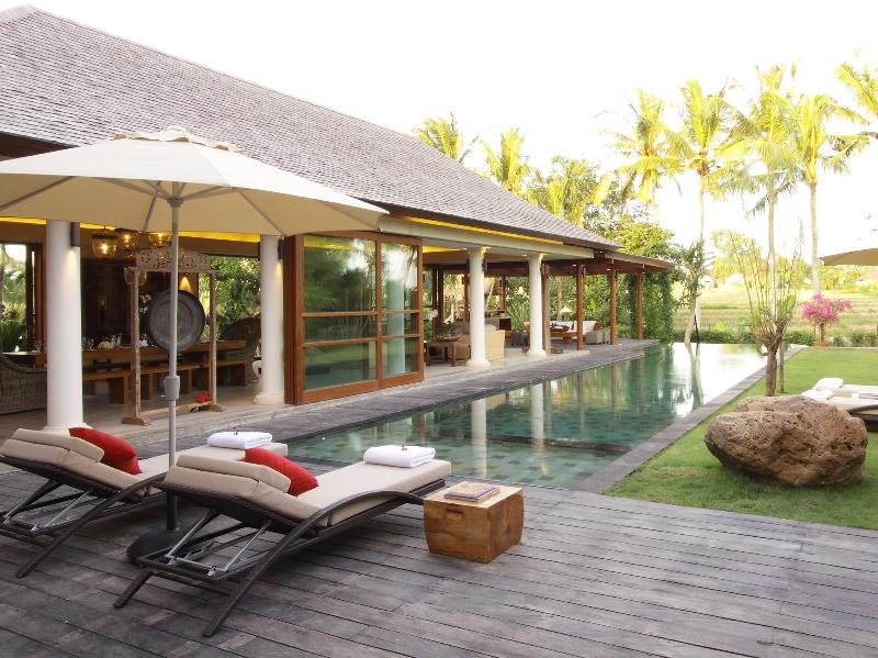 1. Villa Sarasvati - Pool deck and gardens - Villa Sarasvati - an elite haven - Canggu - rentals