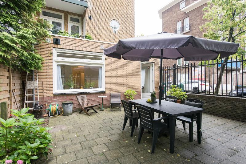 Garden Terrace - 10minutes2center theme Brazil - Amsterdam - rentals