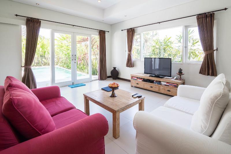 Living Room - Villa Jumah Bisma on Jalan Bisma - Ubud - rentals