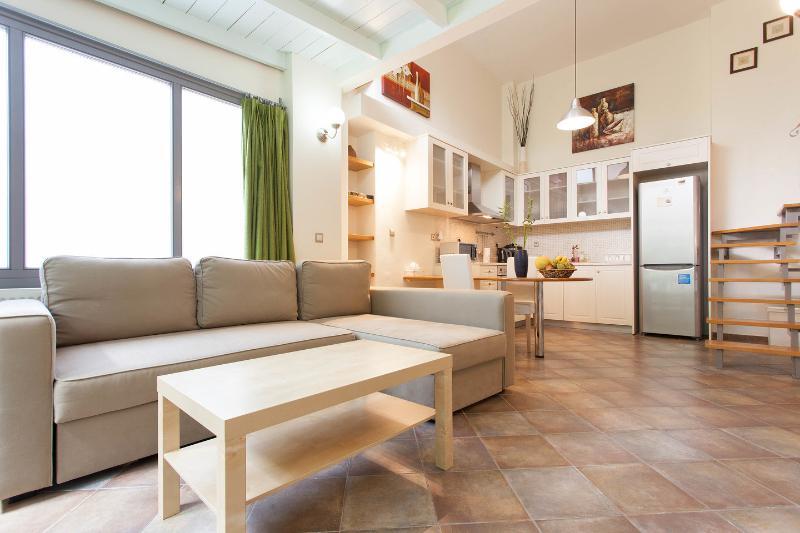 Living Room - valashouse loft - Agia Paraskevi - rentals