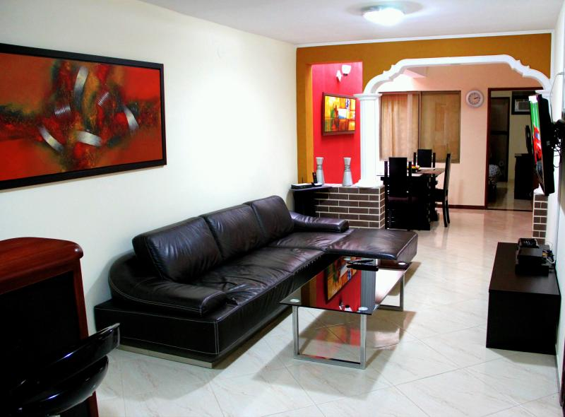 3 bedroom with AC  Lleras Terrace Hot Tub - Image 1 - Medellin - rentals