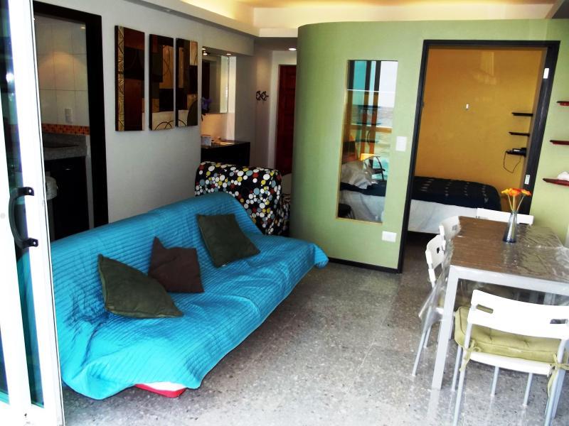 view from balcony - OCEAN DREAM 1 BEDROOM CONDO IN PUNTA CANCUN CLUB Z - Cancun - rentals