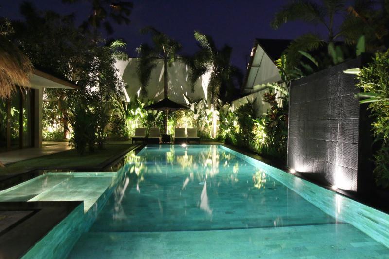 A fairyland at night - SPARKLING, SAFE, SPACIOUS - Villa Rajawali - Canggu - rentals