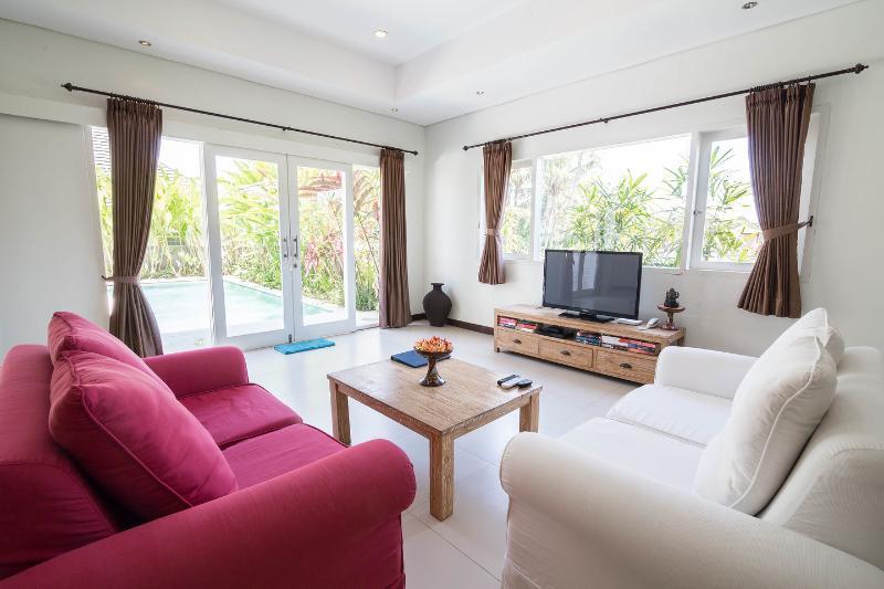 Living Room - Villa Jumah Santanu on Jalan Bisma - Ubud - rentals