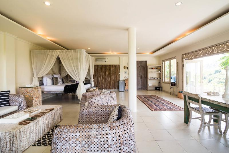 Living Room - Villa Shimha Suite Ubud - Ubud - rentals