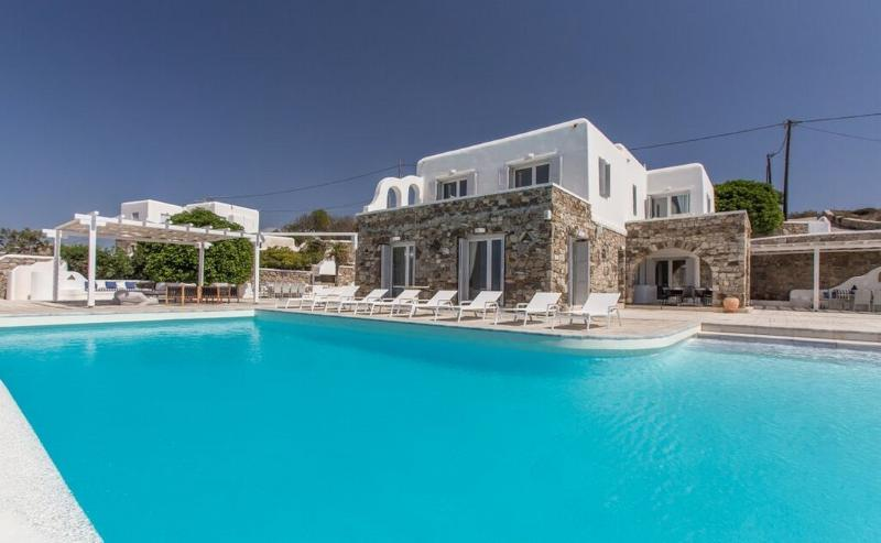 Blue Villas | Casa Seaview | Breathtaking Views - Image 1 - Mykonos Town - rentals