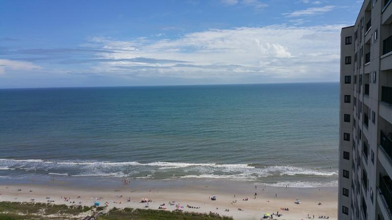 View from the balcony - Ocean Condo - CLEAN - 2bd - Spectacular Views!! - Myrtle Beach - rentals