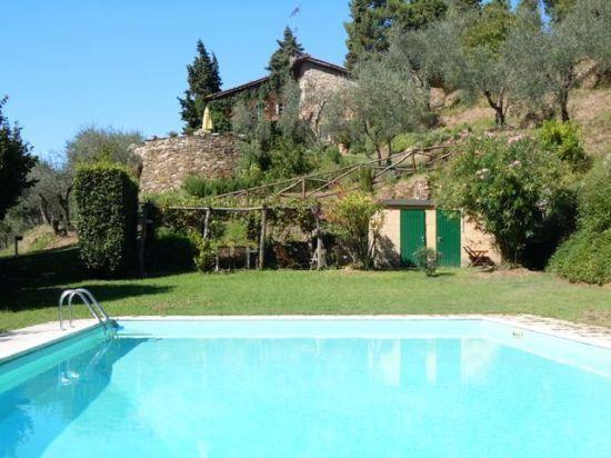 Villa Ella holiday vacation villa rental italy, tuscany, near lucca, pool, view, wi-fi internet, short term long term villa to rent - Image 1 - Santa Maria del Giudice - rentals