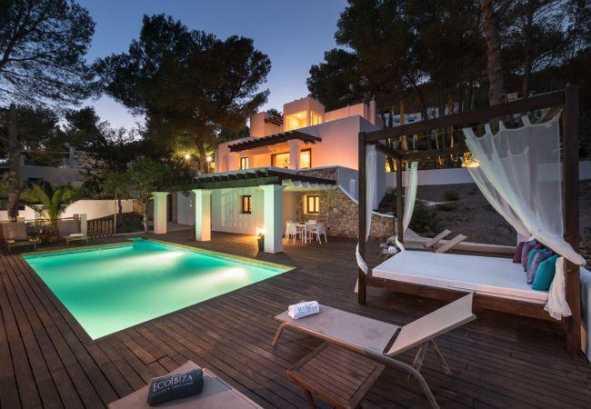 4 bedroom Villa in San Jose, Es Cubells, Ibiza, Ibiza : ref 2132874 - Image 1 - San Jose - rentals