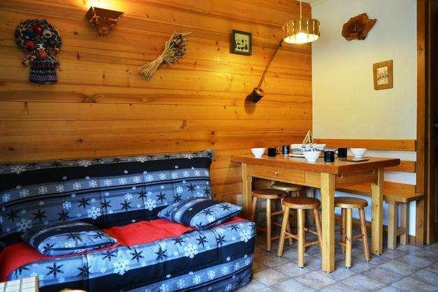 ALPINA B 2 rooms + small bedroom 6 persons - Image 1 - Le Grand-Bornand - rentals