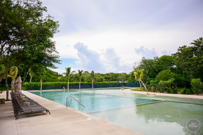 Amazing pool area, it's like a you're in the middle of the jungle - NEWLYWEDS, 1 Bedroom Condo In Private Resort - Playa del Carmen - rentals