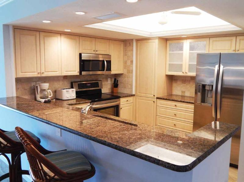 Kitchen 2 - Beachfront Garden Unit B - Siesta Key - rentals