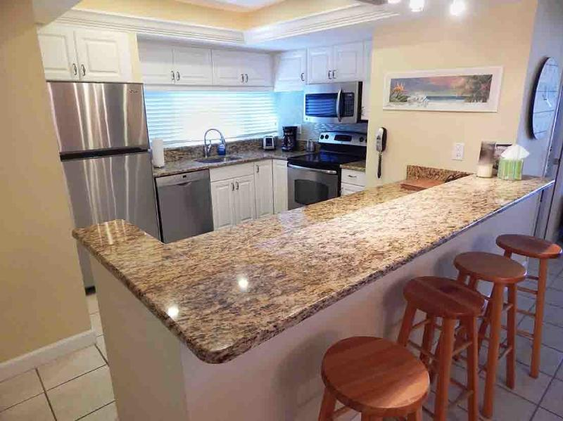 Kitchen - Beachfront Garden Unit D - Siesta Key - rentals