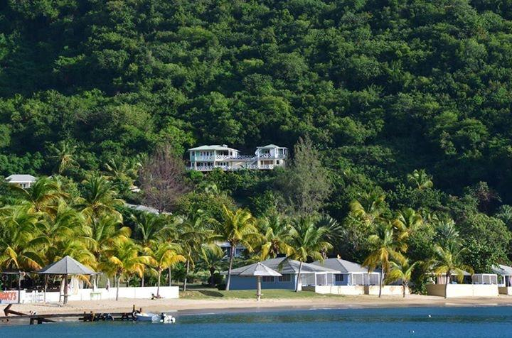 Calypso nestled in the hill and just 3mins stroll down to Galleon Beach - Calypso Villa Galleon Beach Club 5/6 Bedroom - English Harbour - rentals